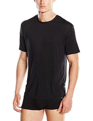 Girocollo Homme nero Klein shirt T Calvin s S Schwarz 001 wqtxRaOYC