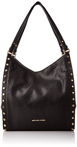 MICHAEL Michael Kors Newbury Medium Chain Shoulder Tote (Black - Online Kors Usa Michael