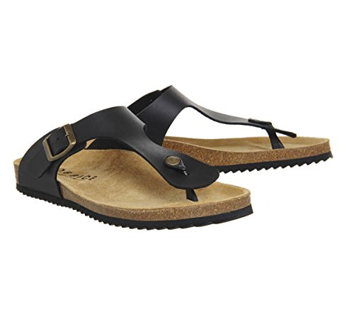 Office Delhi Toepost Sandals Black KxS0dh9