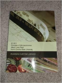 EC 201 Principles of Microeconomics (Custom for NCSU)