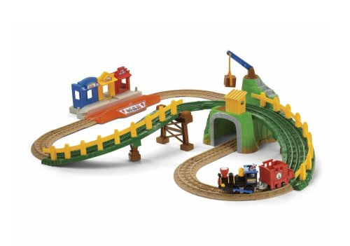 Fisher Price GeoTrax Timbertown Railway with Push Train