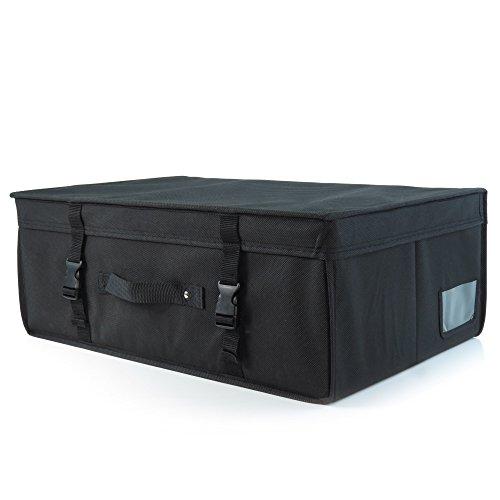 c95f7bad65ae HANGERWORLD Medium Black Wedding Dress Bridal Gown Garment Storage Box and  Travel Carry Case