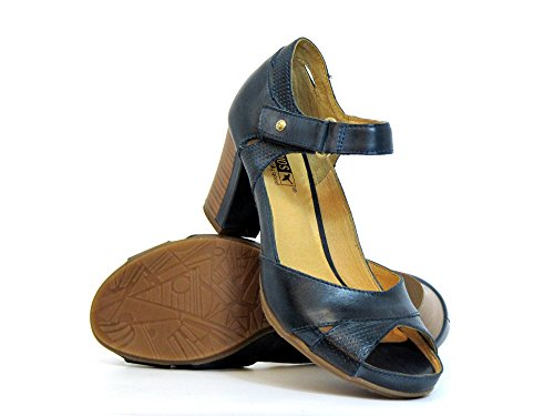 Tacón Zapatos De Azul W0k0972 Ocean Mujeres Pikolinos Blau xa4qOCB4w