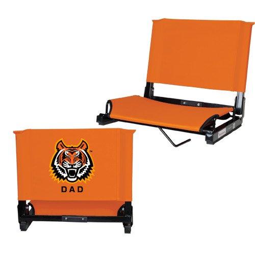 CollegeFanGear Idaho State Stadium Chair Orange 'Dad' by CollegeFanGear