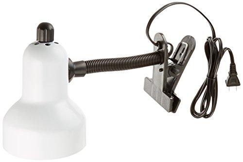 Lite Source LS-111WHT Clip-On Lamp, White