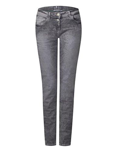 Grau Grey Jean 10316 Mid Wash Femme Droit Used Cecil qwPRxT1tw