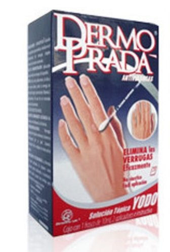 Dermo Prada Yodo Antiverrugas Remove Warts Skin Tags 10ml From Mexico by Genomma Lab