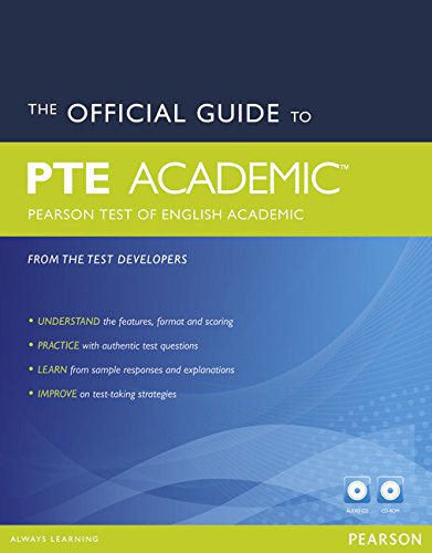 The Official Guide to the Pearson Test of English (Pearson Tests of English)