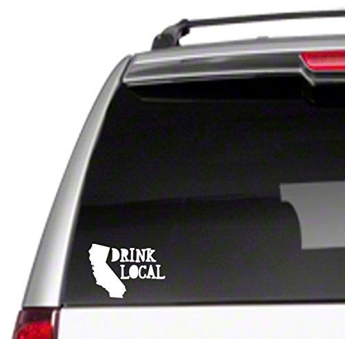 Brew Drink - Drink Local CA Car Vinyl Decal Sticker california support brew craft love gift *I17*