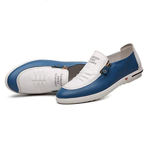 Sintético Feidaeu Azul Zapatos Hombre Material de waqtrOa
