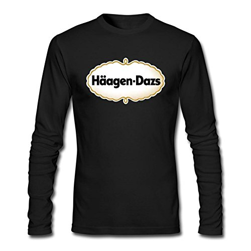 rosar-mens-haagen-dazs-long-sleeve-100-cotton-t-shirt-black