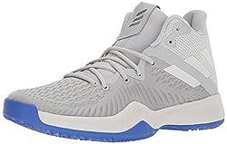 adidas Performance Men's MAD Bounce Basketball Shoe, Grey Two/Grey One/Grey Three, 7 M US
