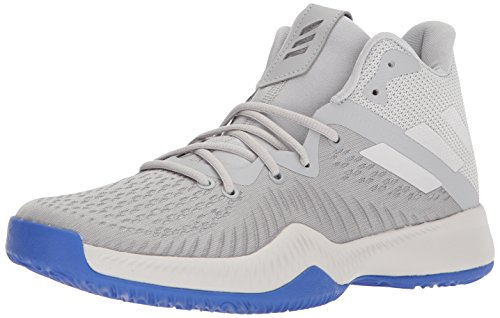 adidas Men's Mad Bounce Basketball Shoe, Grey Two/Grey One/Grey Three, 17 M US (Basketball One Shoes)