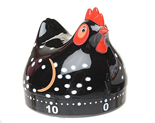 Black Chicken Kitchen Timer