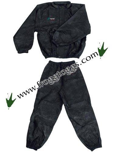 Frogg Toggs Pro Action Rainsuit - Black - XXL