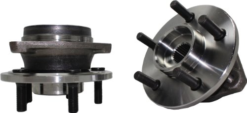 (Brand New (Both) Front Wheel Hub and Bearing Assembly fits: 1999-01 Jeep Cherokee (with FULL CAST Rotors), 2000-06 TJ (All 4x4 models), and 2000-06 Wrangler (All 4x4 Models) 5 Lug)
