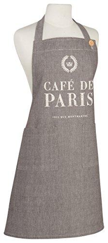 (Now Designs Basic Chambray Apron, Cafe De Paris)