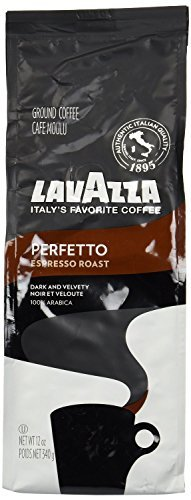 Lavazza Ground Coffee Perfetto 340g - Pack of 6 by Lavazza