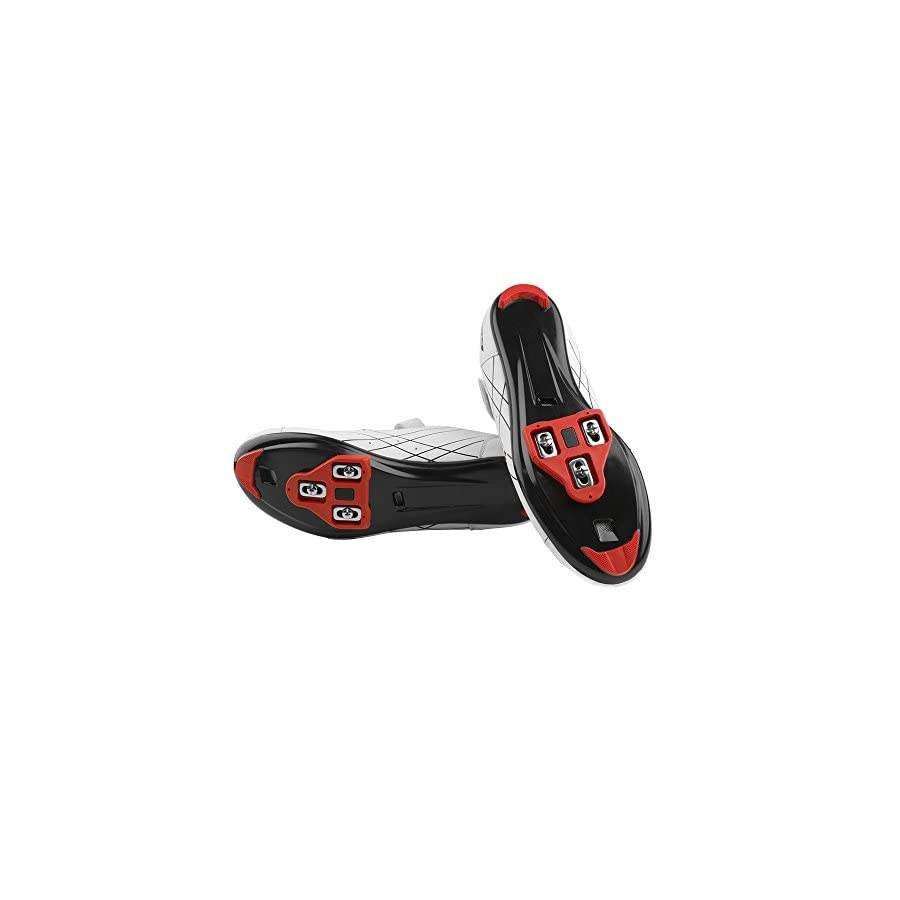 1d74343b3 BV Bike Cleats Compatible with Look Delta (9 Degree Float) Indoor Cycling    Road