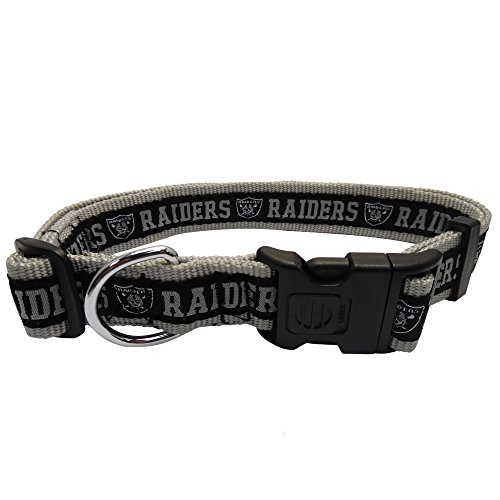 Pets First NFL Oakland Raiders Dog Collar, X-Large
