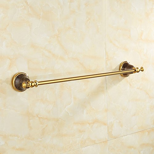 ZnzbztGold over copper throughout natural jade bathroom towel rack mount hardware piece of gold antique single lever towel rack, luxury lady web) by Znzbzt