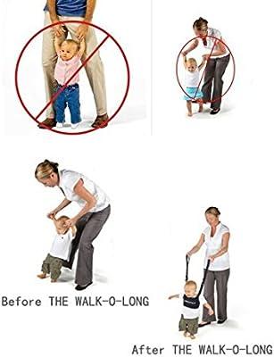 Hivel Handheld Asistente de Caminar Bebe Baby Walker Toddler Walking Assistant Nino del Bebe Aprenda a Caminar Cinturon Andador Asistente Arnes de ...