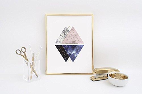 Nordic Style, Marble Print, Marble Decor, Geometric Print, Scandinavian Art, Minimalist Poster, Wall Decor, Modern Home Decor