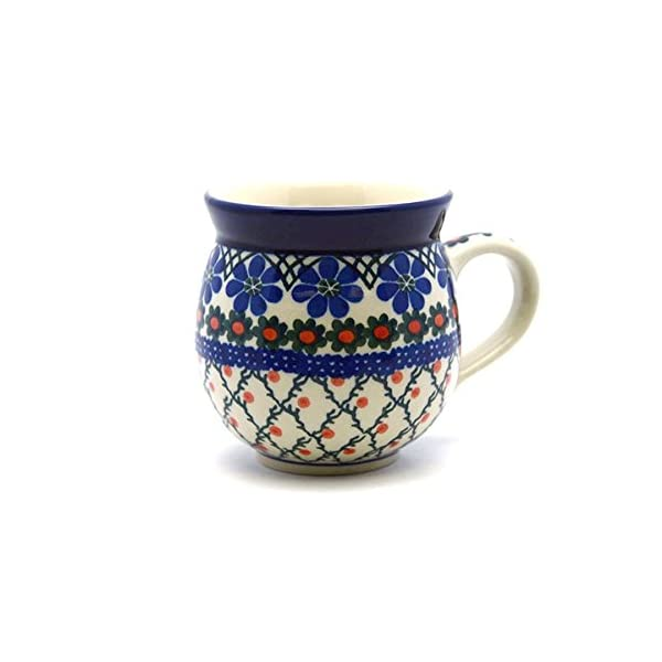 Polish Pottery 16 Oz. Bubble Mug – Primrose Ceramika Artystyczna
