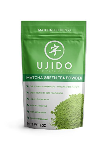 Ujido Japanese Matcha Green Tea Powder - Packaged in Japan (2 oz) (Best Foods To Strengthen Immune System)