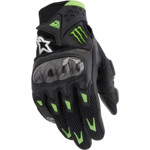 alpinestars m10 air carbon gloves - 2