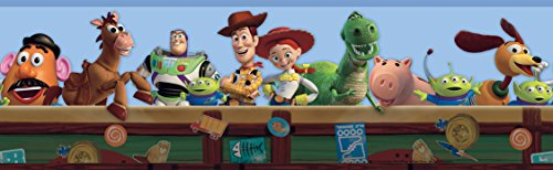 York Wallcoverings Disney Kids Toy Story Border, - Border Wallpaper Watch