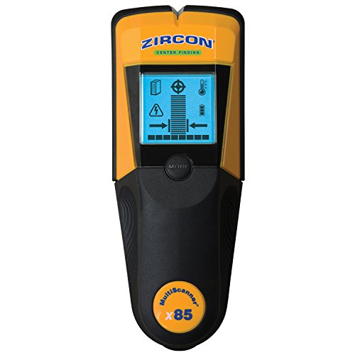 (Zircon MultiScanner x85 Center Finding Stud Finder, Thermal Scanner and Live AC Wire)