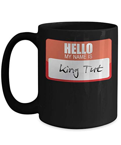 My Name Is King Tut Egyptian Pharoah Halloween Costume King Pyramid Ancient Egyptian Trick or Treat Gift Mug | Simple Halloween Costume Idea]()