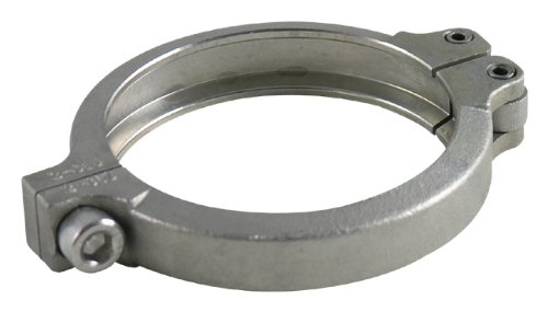 (Precision Turbo PW46 46mm Wastegate V-Band Outlet Clamp)
