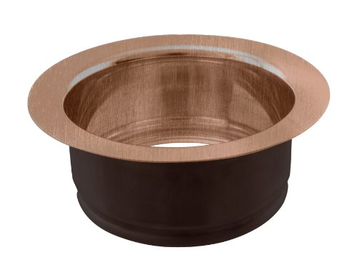 Westbrass InSinkErator Style Sink Disposal Flange, Antique Copper, D208-11 Antique Copper Plumbing Fittings