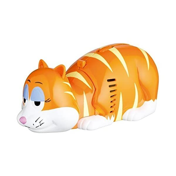 Kitsch 'n' Fun Ginger Cat Table Top Vacuum Cleaner - Crumb Desk Novelty Mini