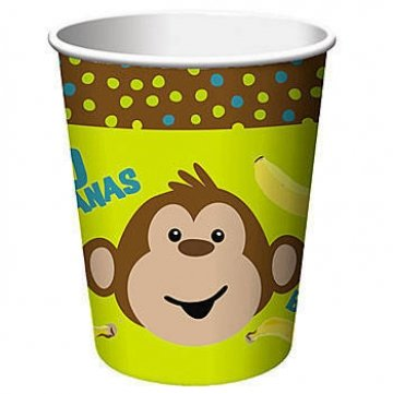 Monkey Paper Plates - 5