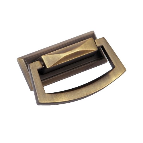 Sumner Street Home Hardware RL060964 Pyramid Large Ring Pull-Vintage Brass (Ring Drop Pull)