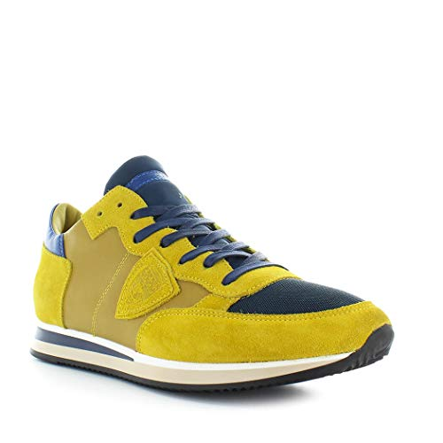 Philippe Mondial Scarpe Autunno Sneaker Da Uomo Tropez Giallo Blu Inverno Model 2019 Yn5OzTxY