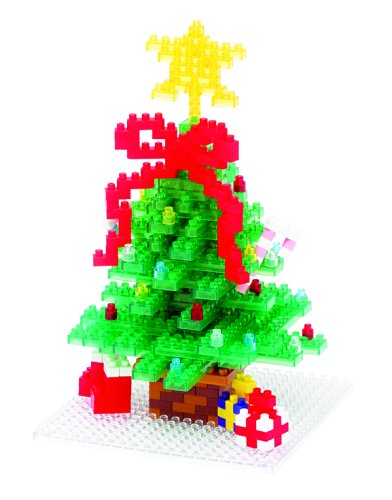 Nanoblock Christmas Tree Building Kit
