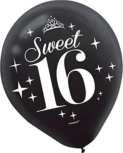 Latex Balloon | Sweet Sixteen Collection | -