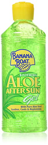Banana Boat Soothing Aloe After Sun Gel, 16 oz (Banana Boat Moisturizing Aloe After Sun Lotion)