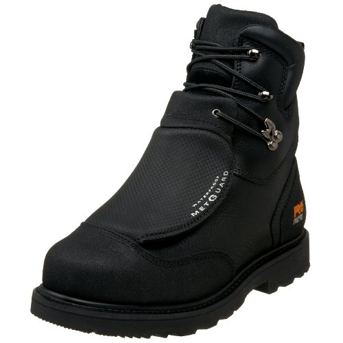 "Timberland PRO Men's 53530 8"" Metguard Steel-Toe Boot,Black,12 W"
