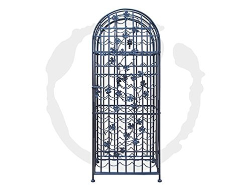 Epicureanist 60-Bottle Grapevine Wine Jail