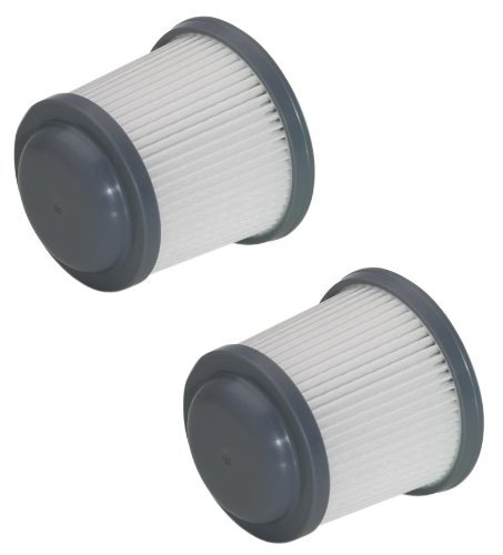 Black & Decker BDH2000PL Vacuum (2 Pack) Replacement Filter # 90552433-03-2pk ()