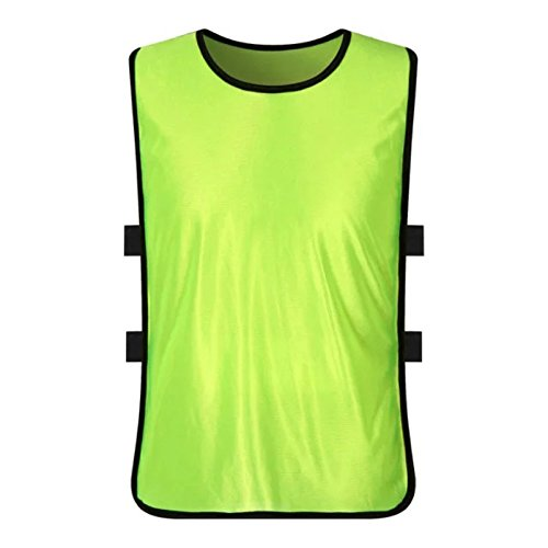 12 Pack Sports Training Bibs, Youth Kids Football Basketball, used for sale  Delivered anywhere in Canada