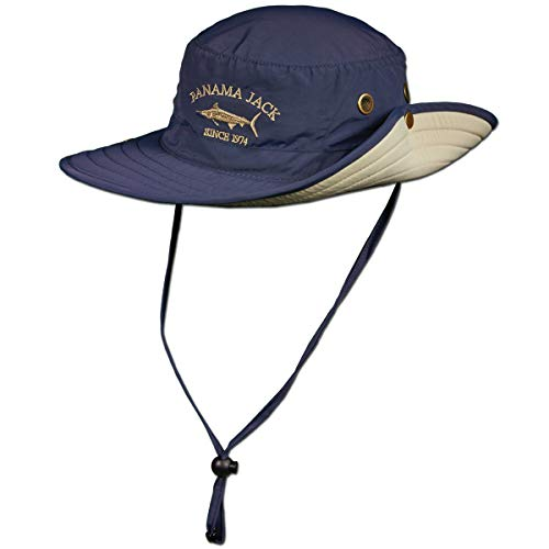 Panama Jack Boonie Fishing Hat - Lightweight, Packable, UPF (SPF) 50+ Sun Protection, 3