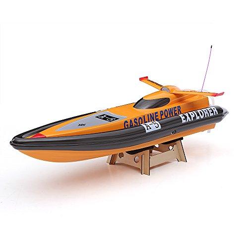 Goolsky VANTEX Explorer 1300GP260 FS-GT2 2.4G Transmitter High Speed 50km/h 26CC Gas Powered RC Racing Boat