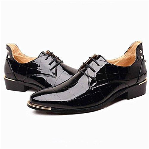 Shoes Design Comfortable Fashion Casual Classic Oxford Black Business Formal Men BgSCqwtn