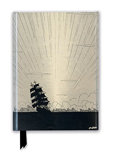 Harry Clarke: Sea Fever (Foiled Journal) (Flame Tree Notebooks)